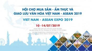 Vietnam Asean Expo 2019 - Hội chợ Mua sắm Ẩm thực và Giao lưu Văn hóa