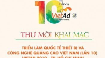 VietAd 2019 - Triển lãm Quốc tế Thiết bị & Công nghệ Quảng cáo Việt Nam