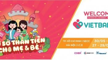 VietBaby Fair Hà Nội 2019 - Triển lãm Quốc tế Sản phẩm Dịch vụ Mẹ bầu, Mẹ và trẻ em
