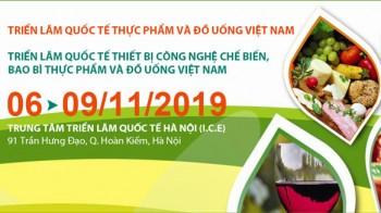Vietfood & Beverage - ProPack 2019 tại Hà Nội