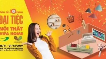 Vifa Home 2019 - Hội chợ Đồ gỗ & Trang trí Nội thất Việt Nam