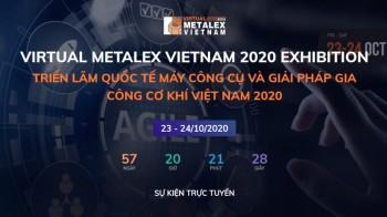 Virtual Metalex Vietnam 2020 - Triển lãm Quốc tế Thiết bị Máy móc và Giải pháp Gia công Cơ khí
