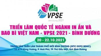 VPSE Bình Dương 2021 - Triển lãm Quốc tế ngành In ấn & Bao bì Việt Nam