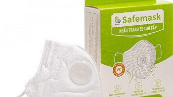 Khẩu trang Safemask 3D cao cấp N96+ có van - SafeLife Vietnam