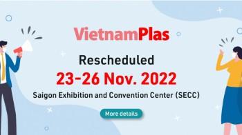 VietnamPlas 2022 - Triển lãm quốc tế ngành Nhựa và Cao su Việt Nam
