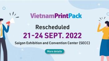 VietnamPrintPack 2022 - Triển lãm In ấn Bao bì và Chế biến Thực phẩm Việt Nam