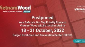 VietnamWood 2022 - Triển lãm quốc tế về ngành công nghiệp chế biến gỗ