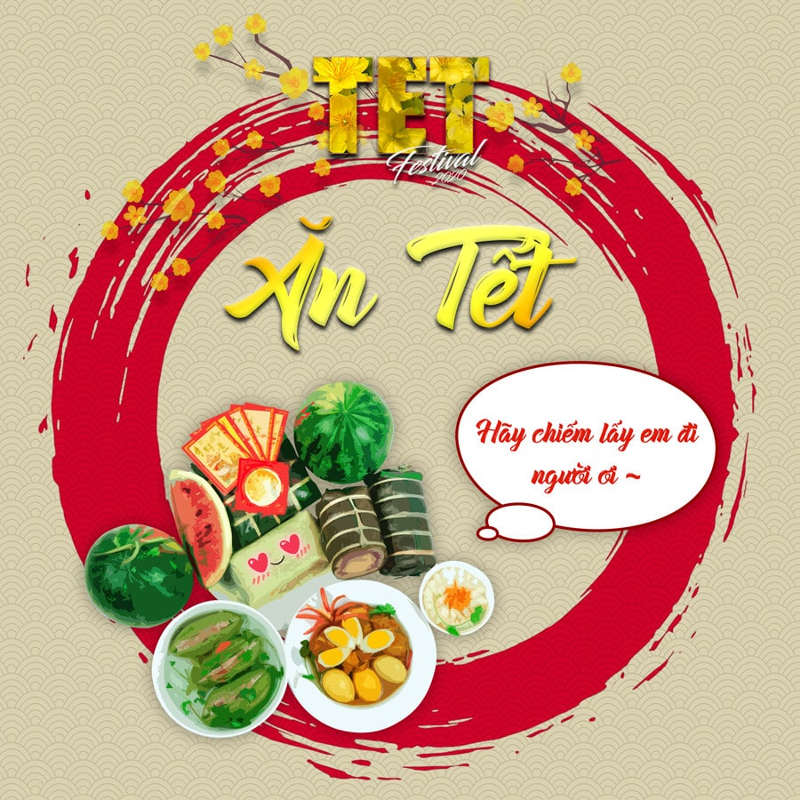Hoạt động Ăn Tết tại TET FESTIVAL 2020 - Lễ Hội Tết Việt