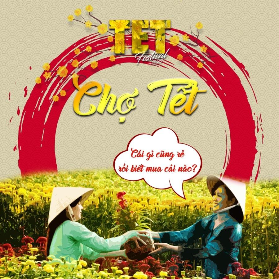 Hoạt động Chợ Tết tại TET FESTIVAL 2020 - Lễ Hội Tết Việt