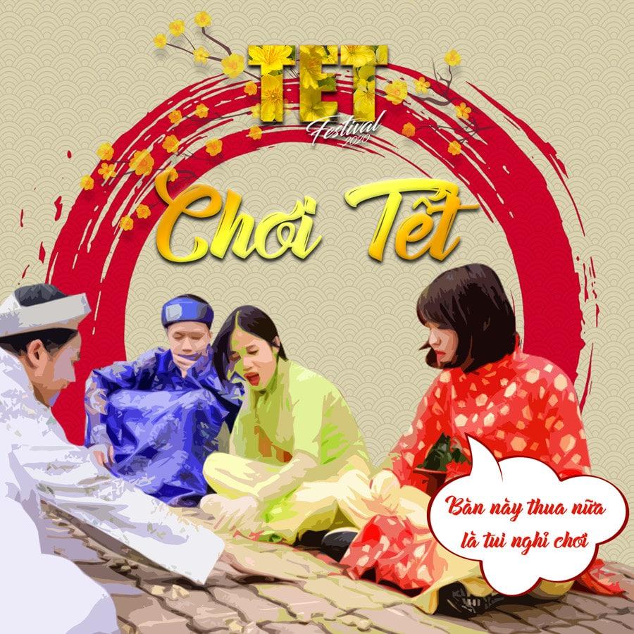 Hoạt động Chơi Tết tại TET FESTIVAL 2020 - Lễ Hội Tết Việt