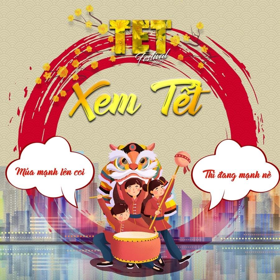 Hoạt động Xem Tết tại TET FESTIVAL 2020 - Lễ Hội Tết Việt