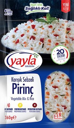 YAYLA AGRO GIDA SAN. VE NAK. A.S CO.,LTD: Các loại mỳ ăn liền, súp ăn liền, ngũ cốc,...