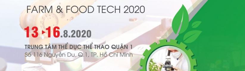Farm & Food Tech 2020 - Hội chợ Quốc tế về Máy móc Thiết bị Công nghệ mới hỗ trợ sau thu hoạch 2020